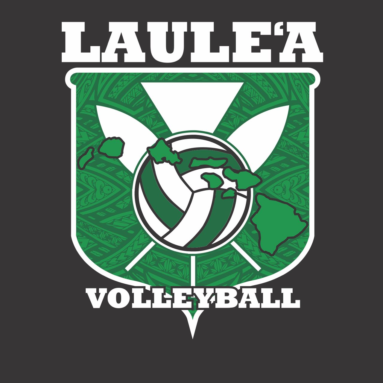 Laule'a Volleyball - 16Black