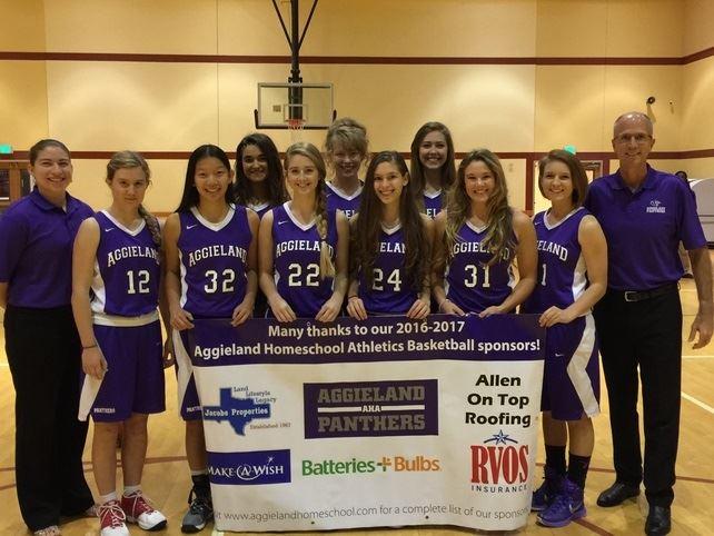 Aggieland Homeschool Basketball - Varsity Girls