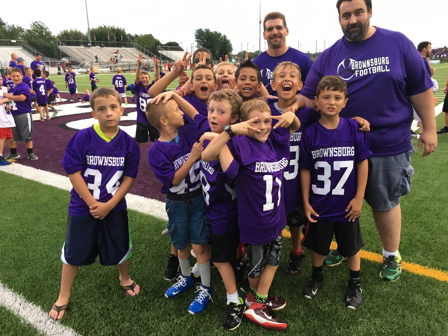 Youth Football - Colts 2016