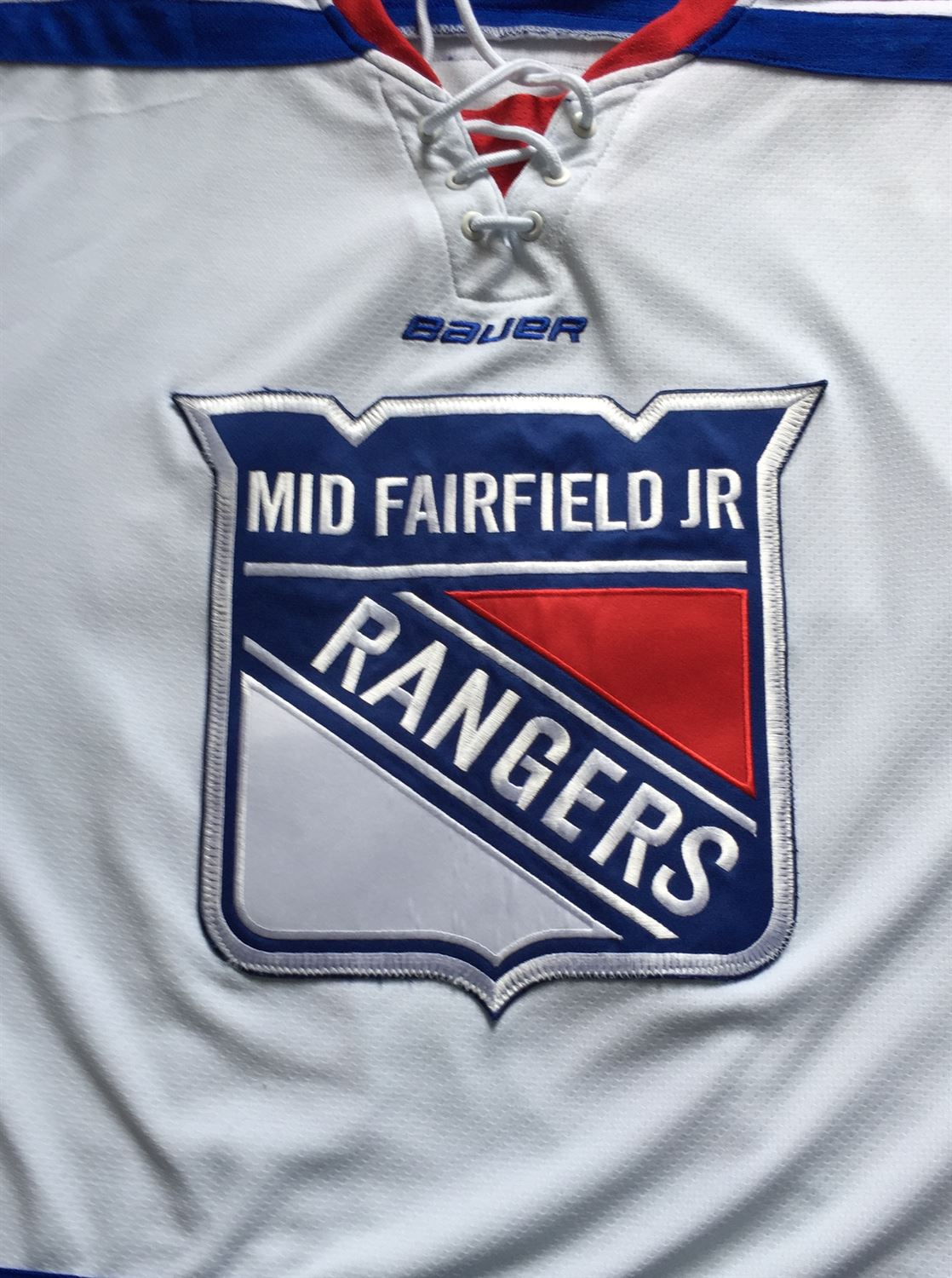 Mid Fairfield Youth Hockey  - Mid Fairfield Rangers (Bantam Major -02)
