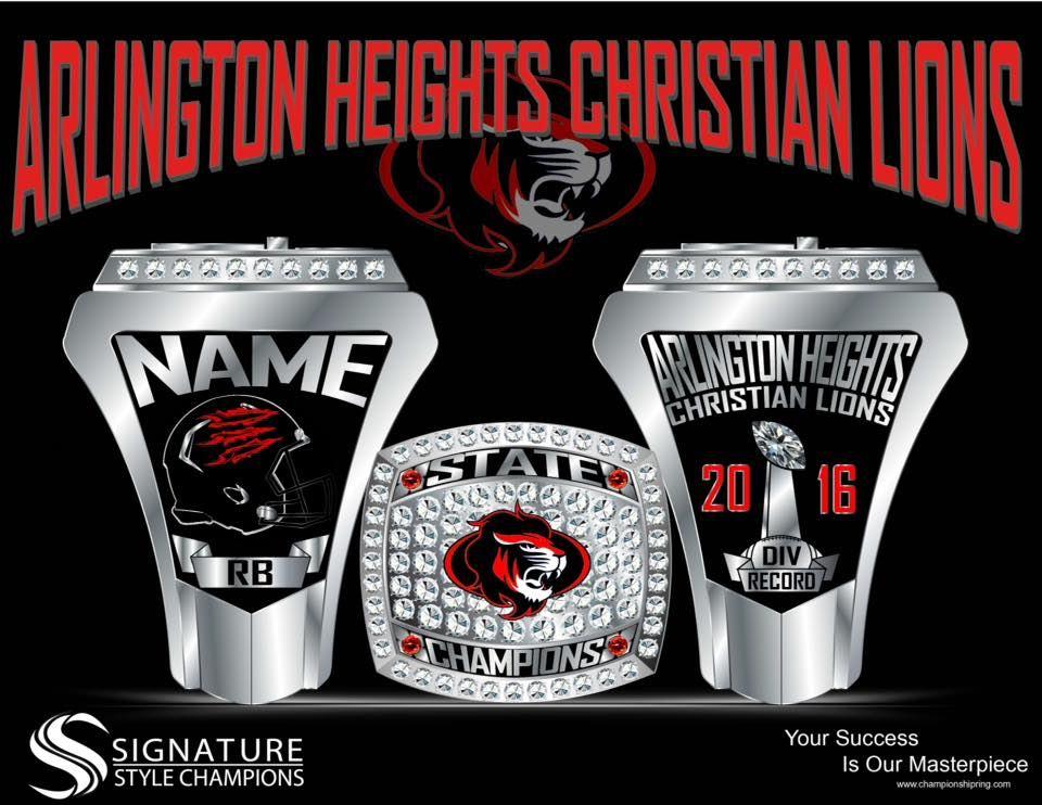 Arlington Heights Christian High School - Lions