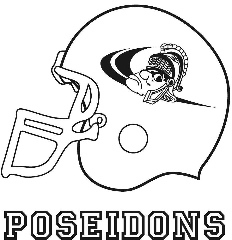 Chitoku High School American Football team - POSEIDONS