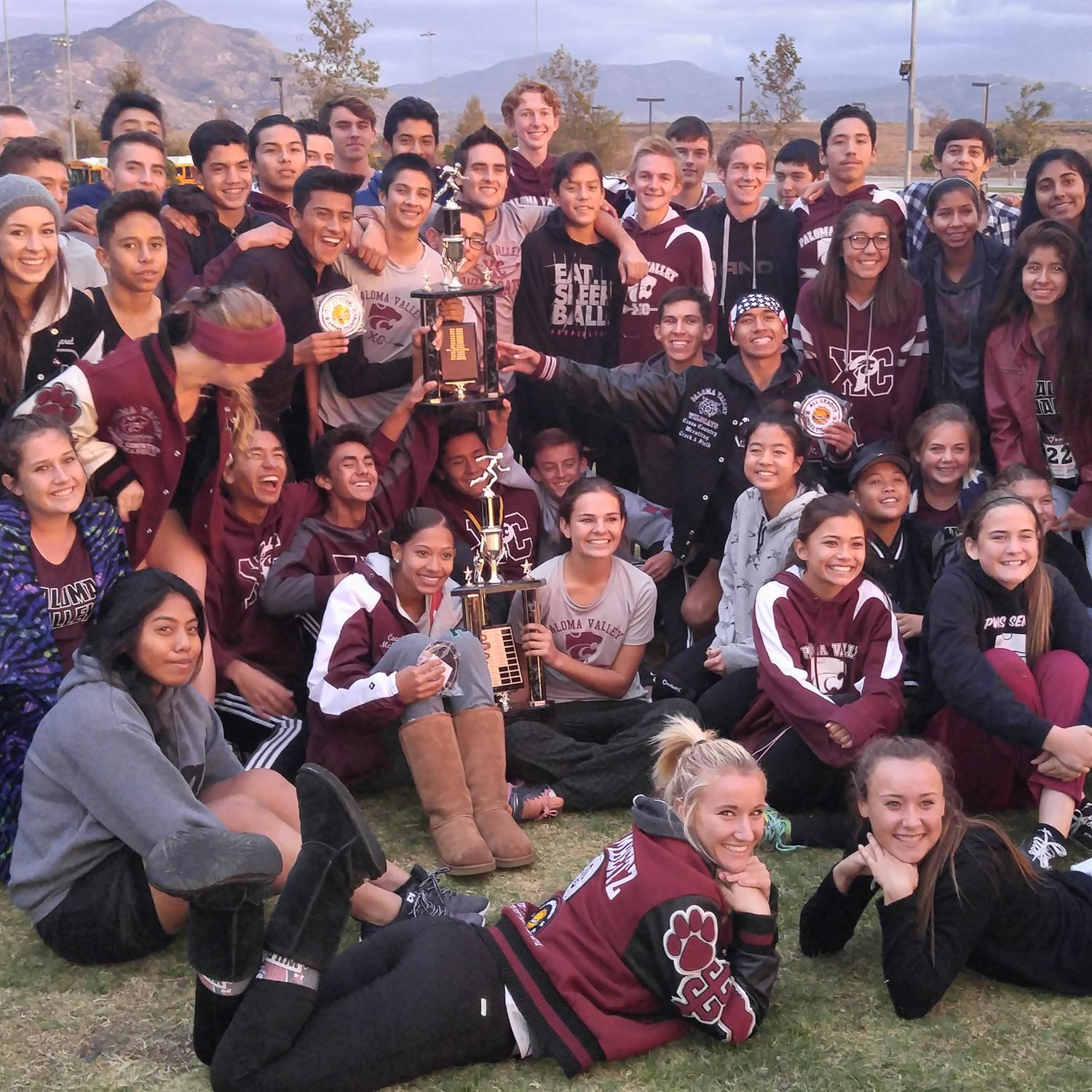 Paloma Valley High School - Girls' Cross Country