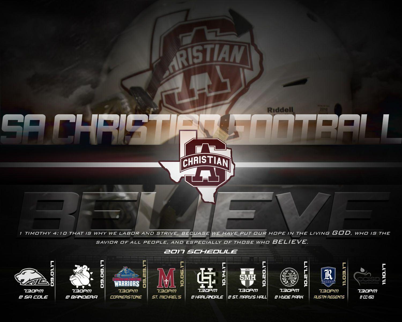 San Antonio Christian High School - Boys Varsity Football
