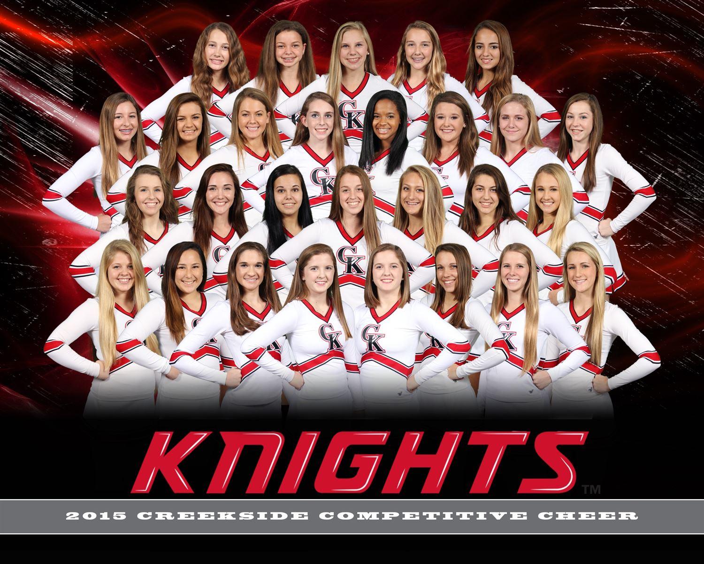 Creekside High School - Girls' Varsity Cheer & Spirit
