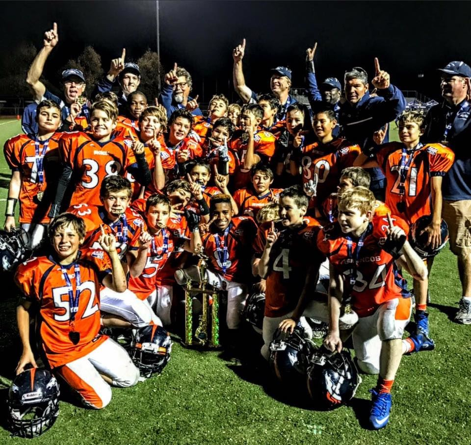 Southern Marin Youth Football- Peninsula PW - JV