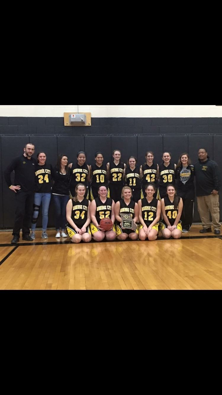 Monroe City High School - Girls' Varsity Basketball