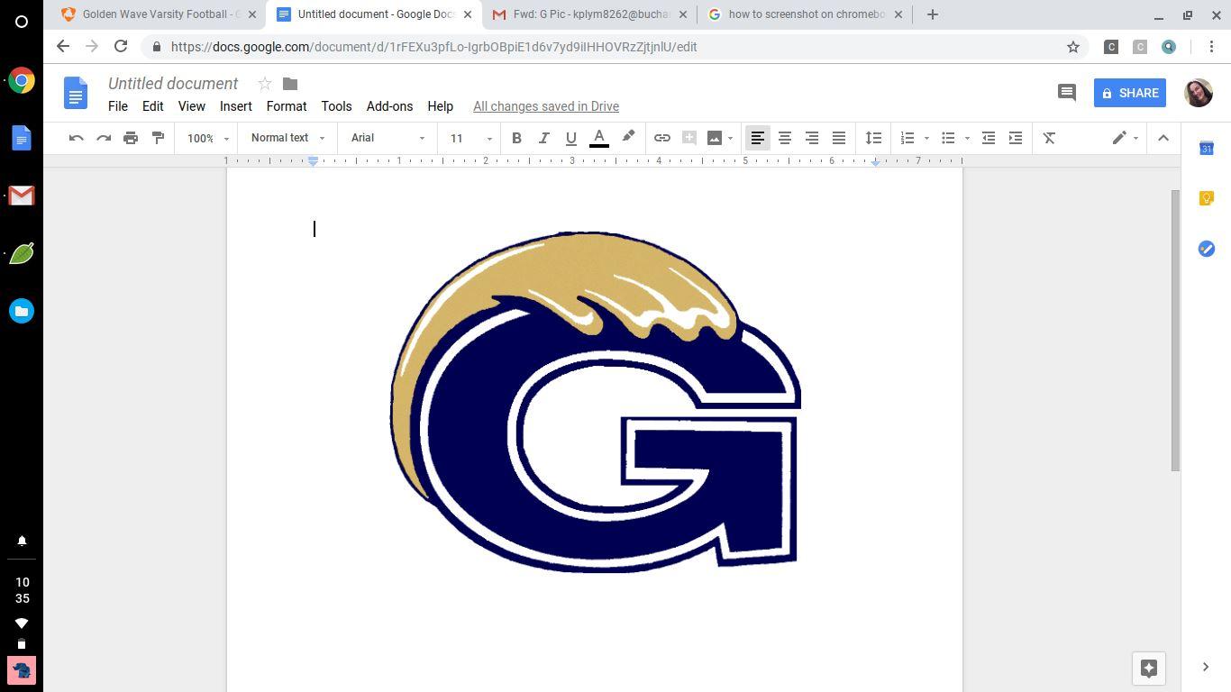 Golden Wave Varsity Football - Grundy High School - Grundy, Virginia