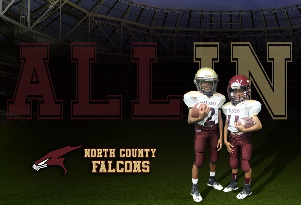 North County Falcons Youth Football - 12 Unlimited