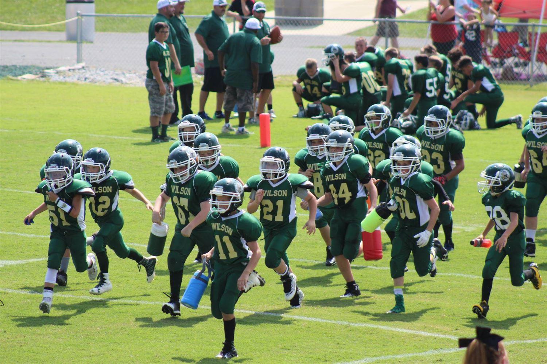 Wilson Football League - Wilson Hornets Juniors