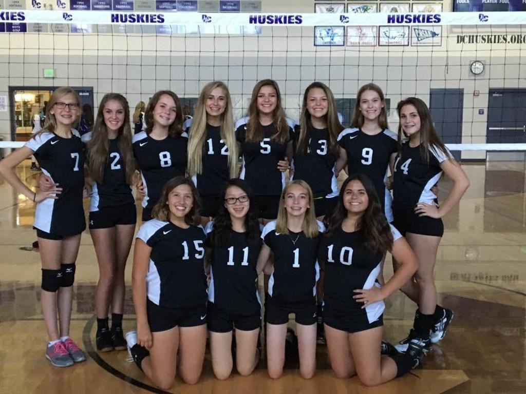 Douglas County High School - Frosh 2016 - Volleyball