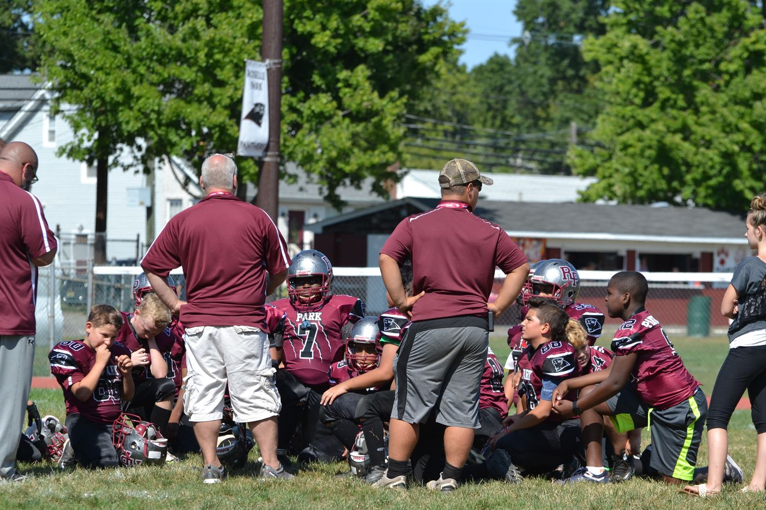 Roselle Park Youth Football - Park Panthers
