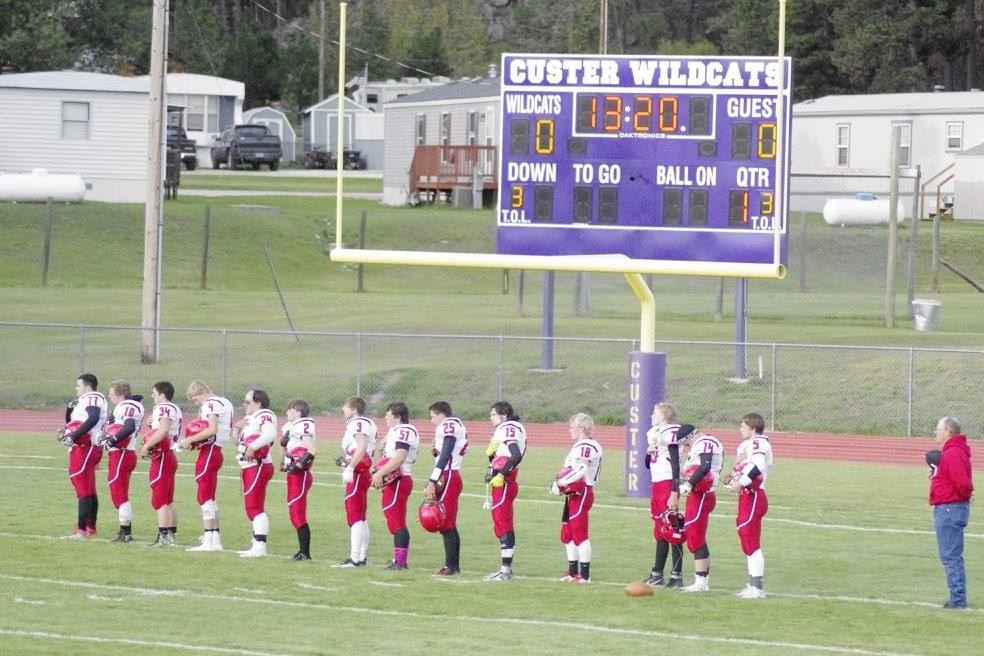 Bison High School - Boys' Varsity Football-80yd