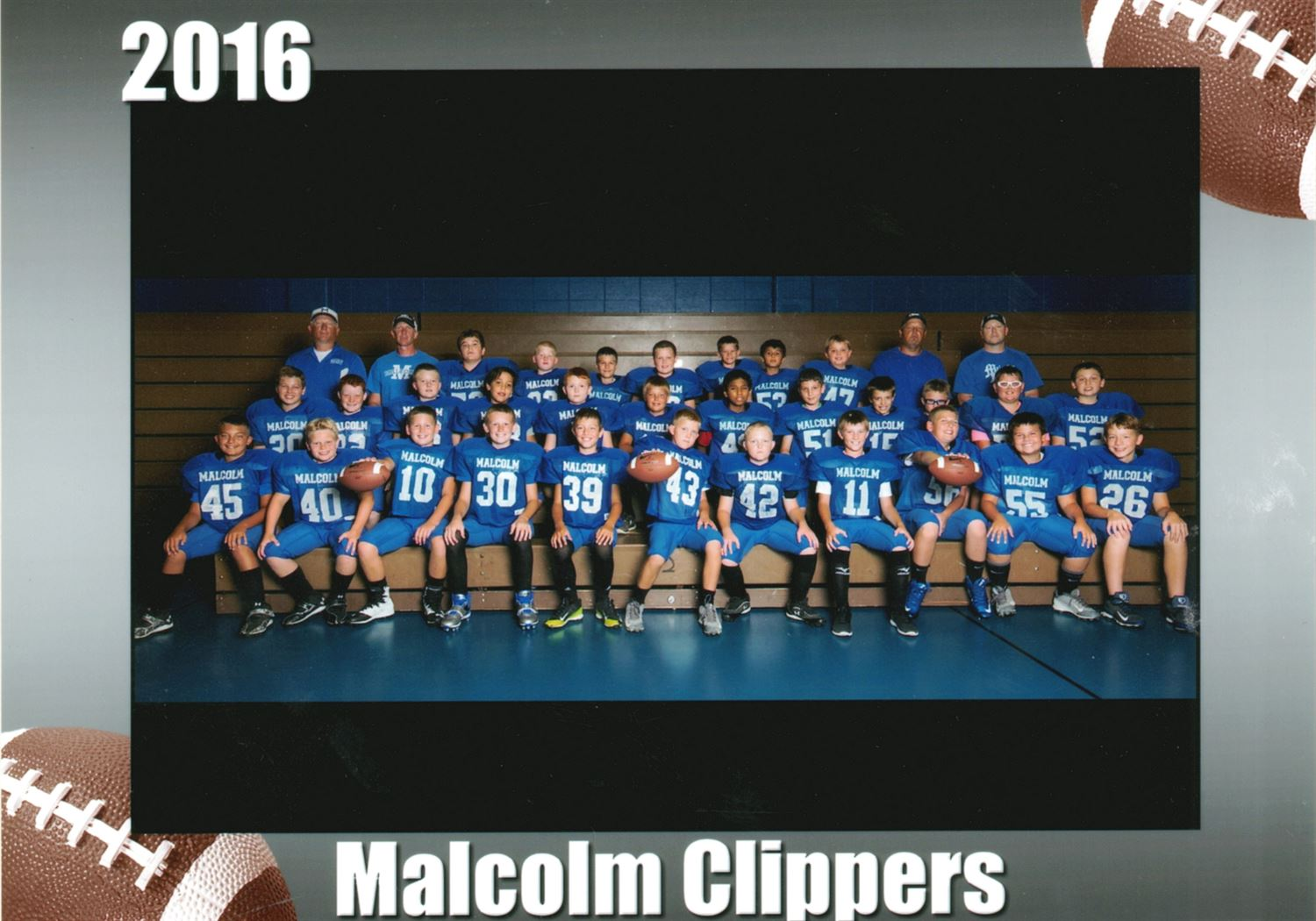 Malcolm Youth Football - Malcolm 2017
