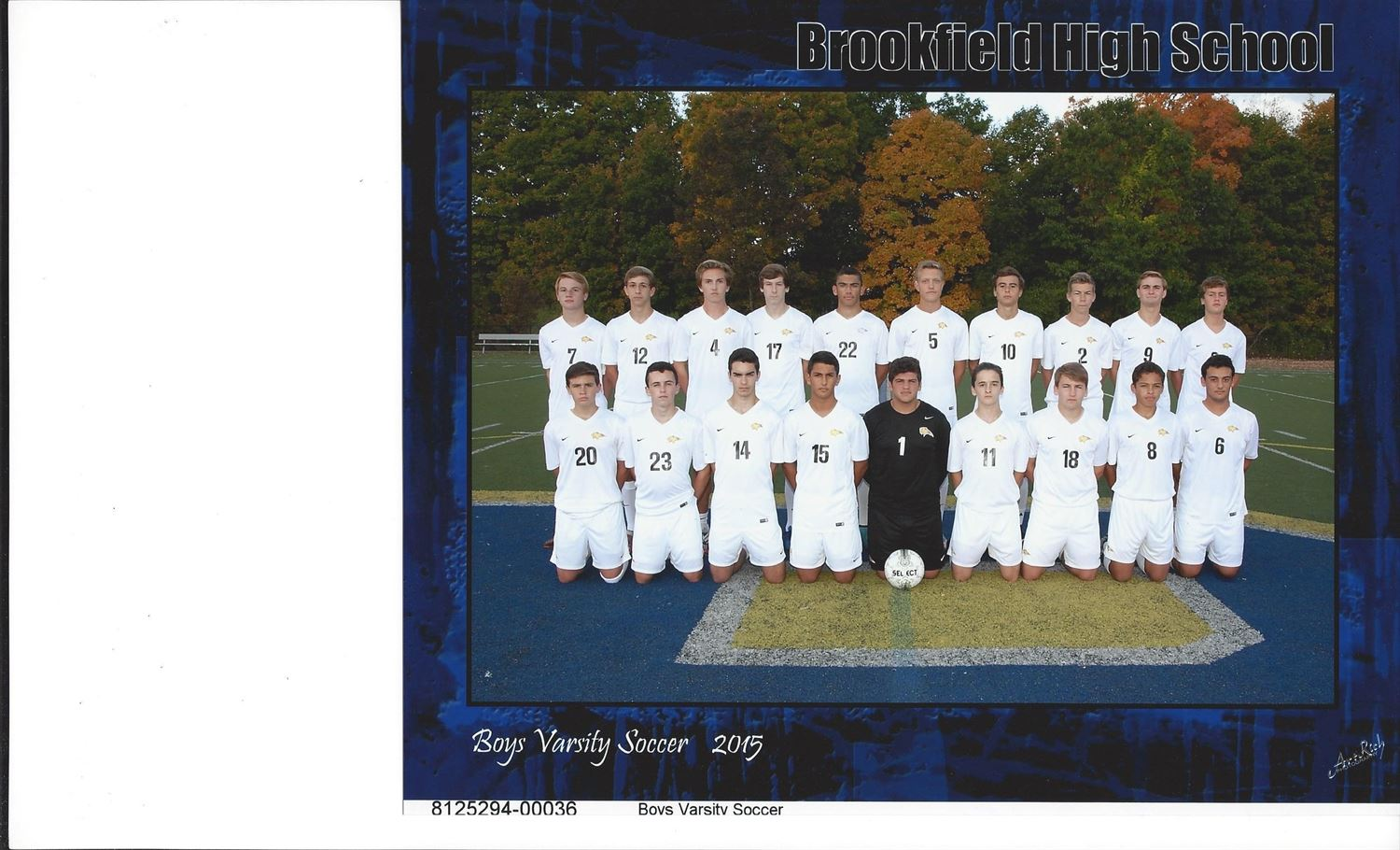 Brookfield High School - BHS Boys' Varsity Soccer