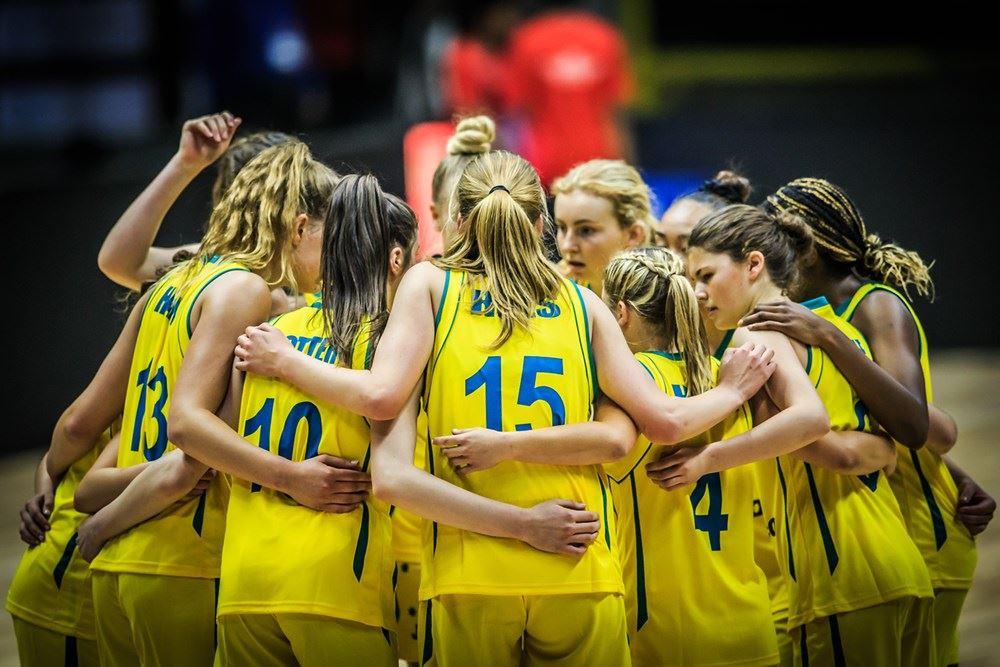 Basketball Australia - U17 Sapphires