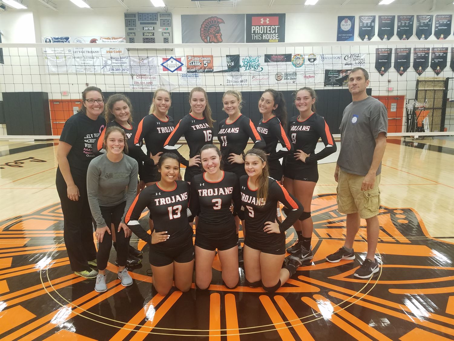 Girls' Varsity Volleyball - Lely High School - Naples