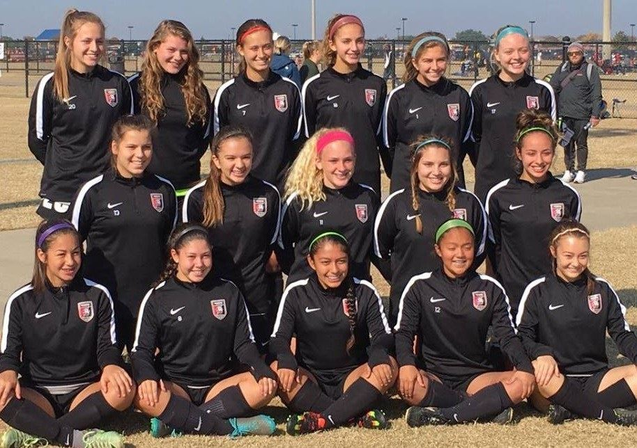 Lonestar Soccer Club San Antonio - Lonestar 01G Red SA
