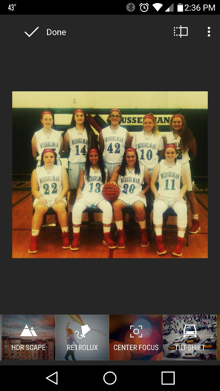 Musselman High School - Girls' Freshman Basketball