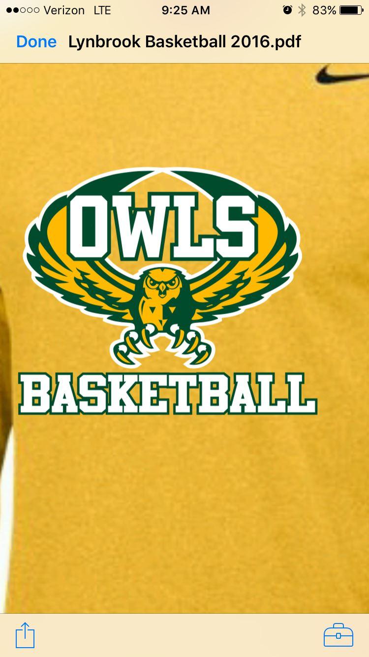 Lynbrook High School - Boys' Varsity Basketball