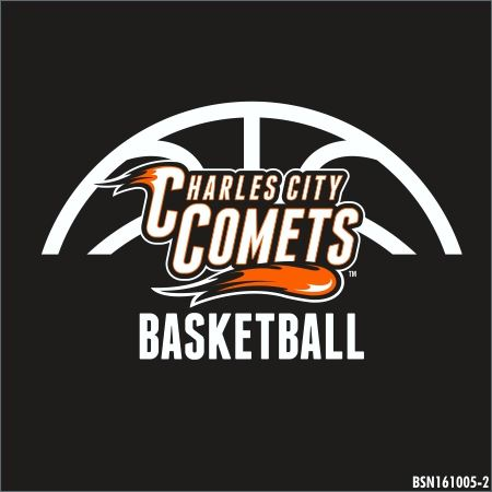 Charles City High School - Mens' Varsity Basketball - New