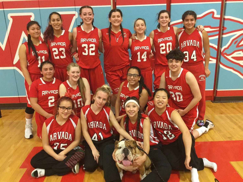 Arvada High School - Arvada Lady Bulldog Basketball JV