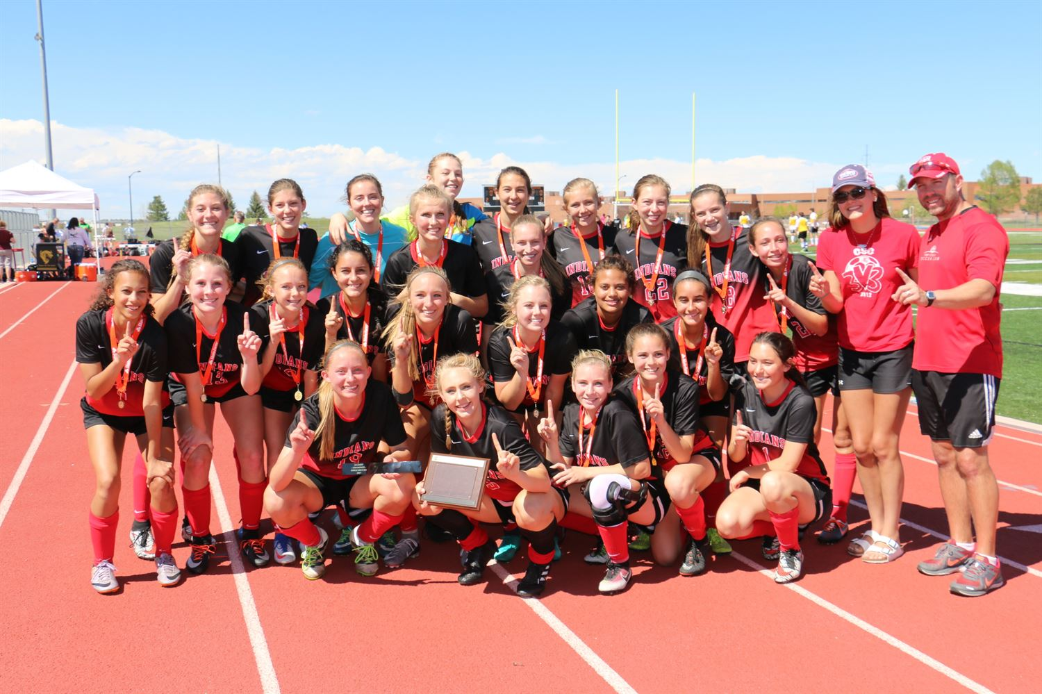 Cheyenne Central High School - Lady Indians