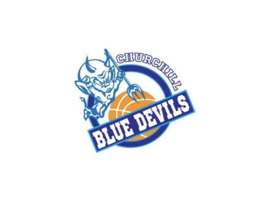 Churchill Basketball - Churchill Blue Devils