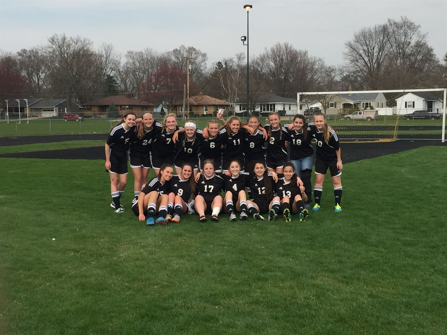 West Ottawa High School - Girls' Junior Varsity Soccer