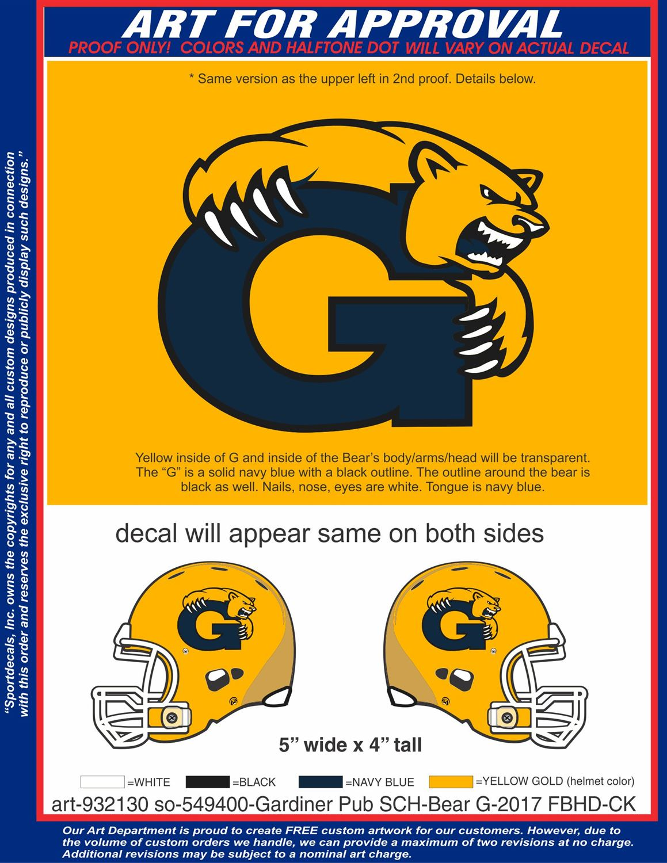 Gardiner High School - Varsity Football