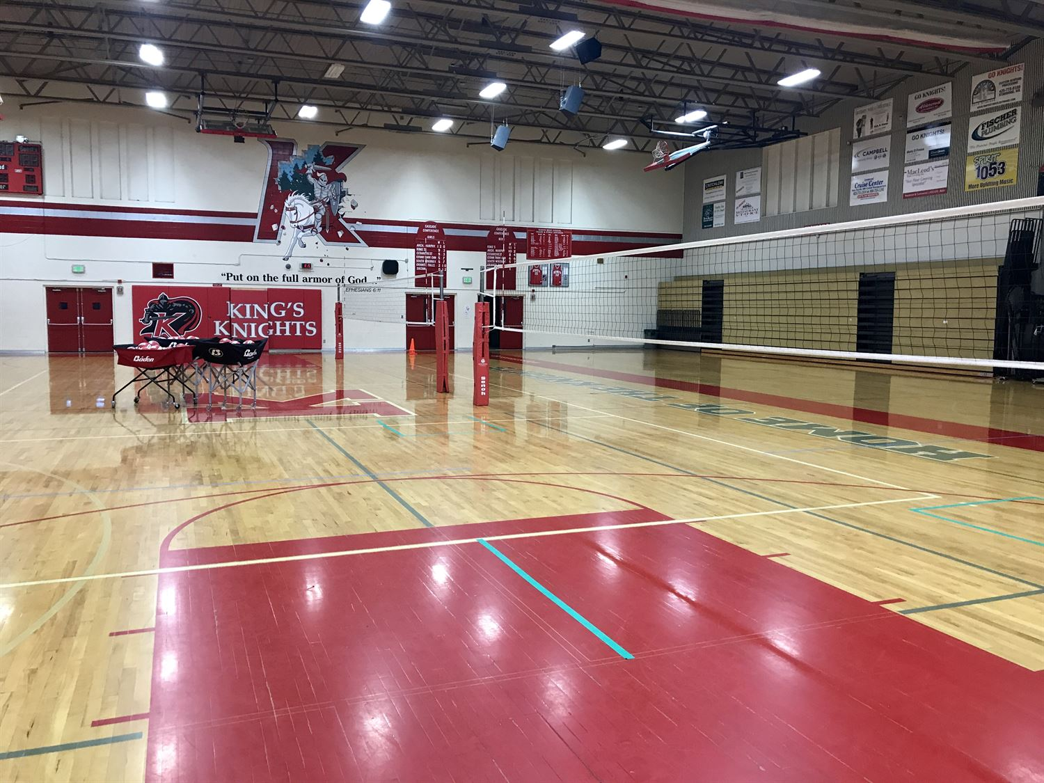 King's High School - King's Volleyball