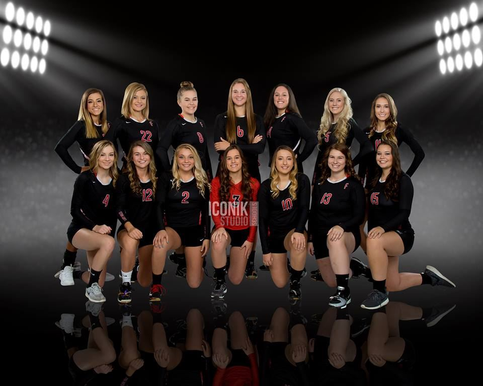 Fairfield High School - Girls' Varsity Volleyball