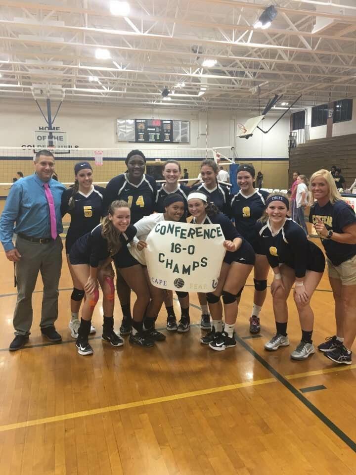 Cape Fear High School - Girls' Varsity Volleyball