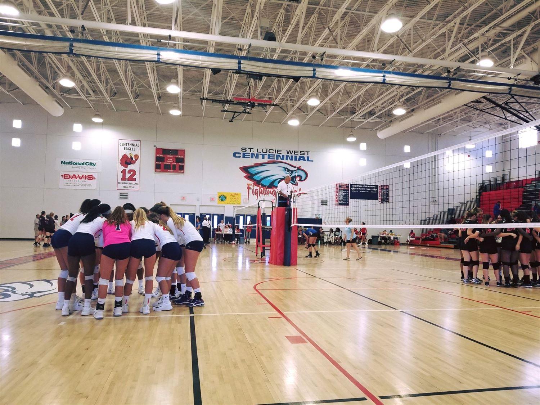Centennial High School - Girls' Varsity Volleyball